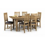Astoria Solid Oak Table and 6 chairs with waxed finish